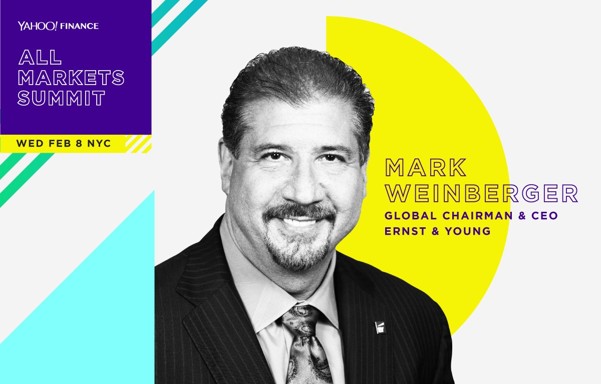 at pm et watch mark weinberger speak live at yahooams at 1pm et watch mark weinberger speak live at yahooams