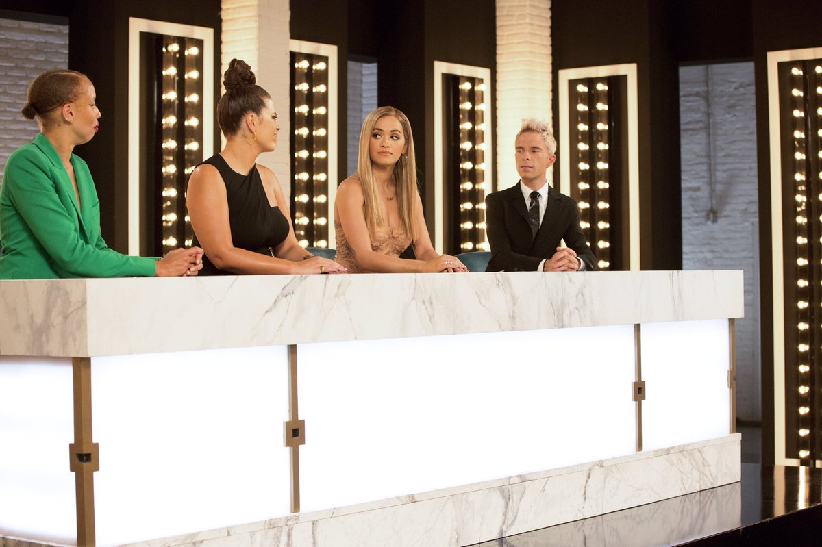 Here comes the girls and @drewpsie holding it down for him and Law!!! Let's do this!! ???? #ANTM https://t.co/naum57pZEW