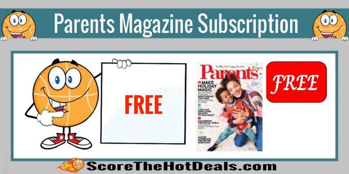 *FREE* Parents Magazine Subscription!free freebies freebie freemagazines