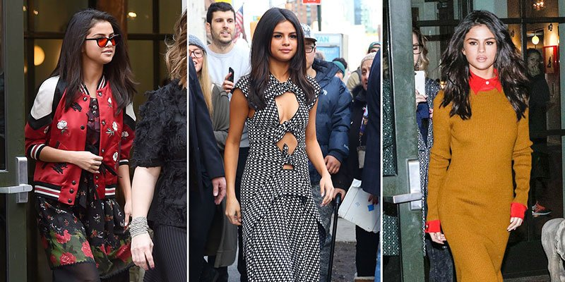 Selena Gomez scores street style streak with 3 different outfits in one day via @peoplestyle