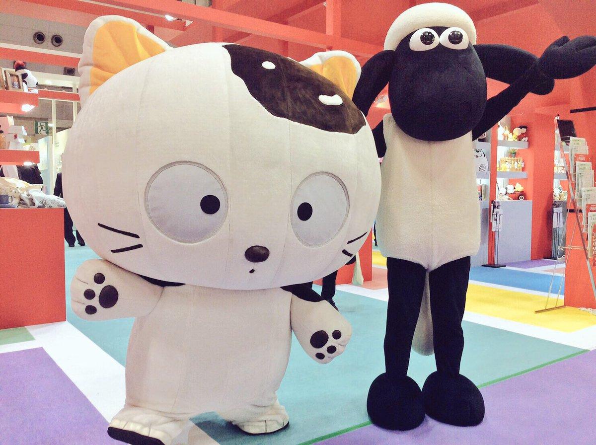 明日まで、東京ビッグサイトにて開催中の東京インターナショナル・ギフト・ショーにタマ&フレンズが出展中!(東2ホー