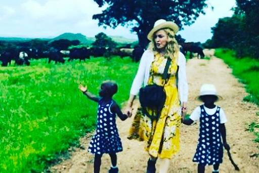 Madonna confirms adoption of twin sisters from Malawi in Instagram post