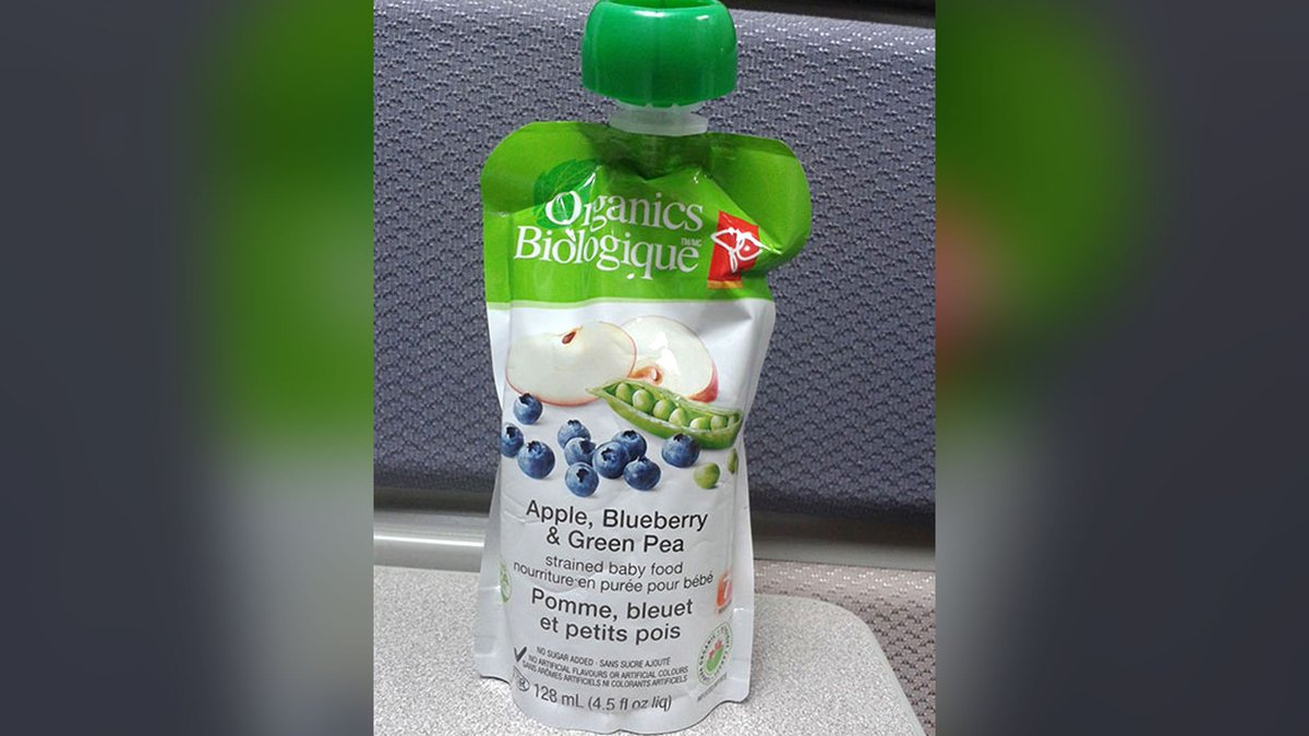 Loblaw expands recall of PC Organics baby food pouches