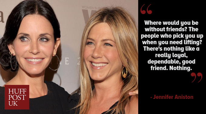 Happy birthday to our favourite Friend, Jennifer Aniston!
