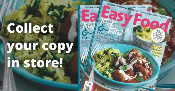 Pick up your FREE copy of Irelands #1 food magazine, @easyfoodmag in any of our 23 stores :) #celebritymasterchefIRL https://t.co/JtAT4sZS3Z