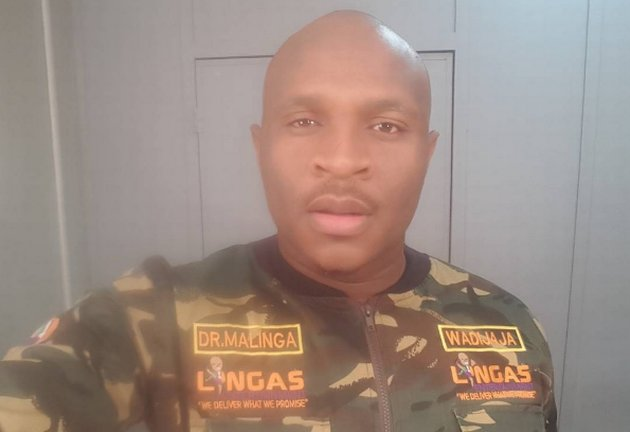 Dr Malinga will fund and film his own documentary