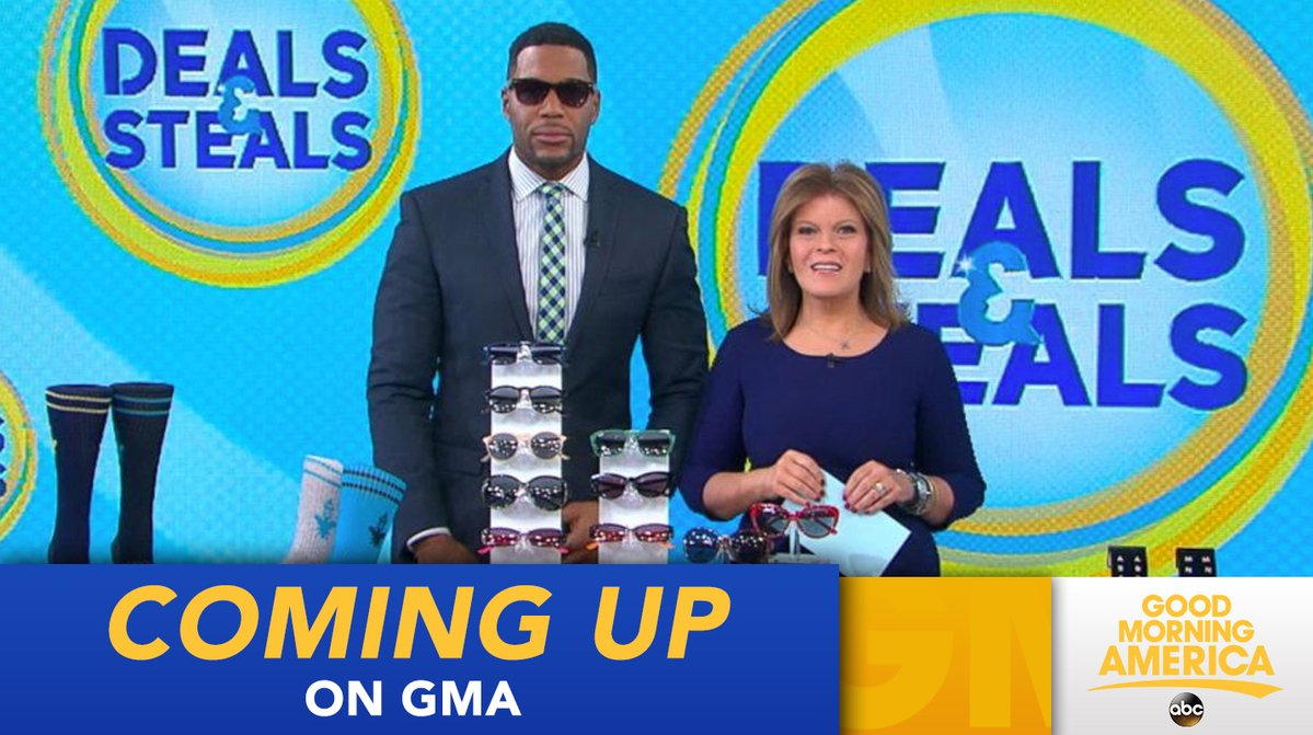 Coming Up On Gma Its Thursday And Its Deals And Steals