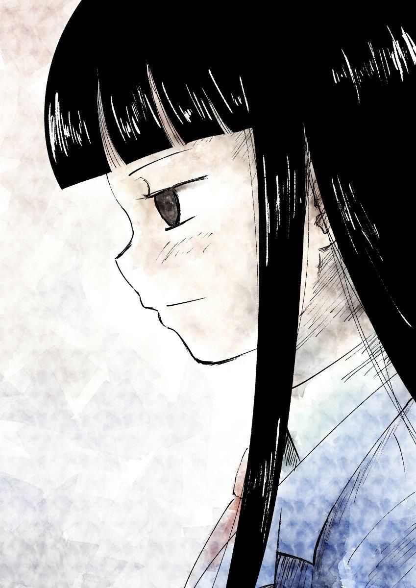 定期的に描きたくなる横顔神林ポートレート #ド嬢