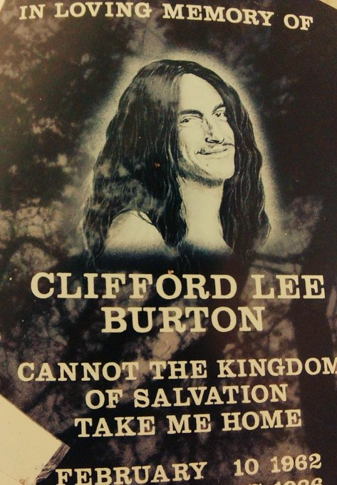 Happy Birthday Cliff Burton !