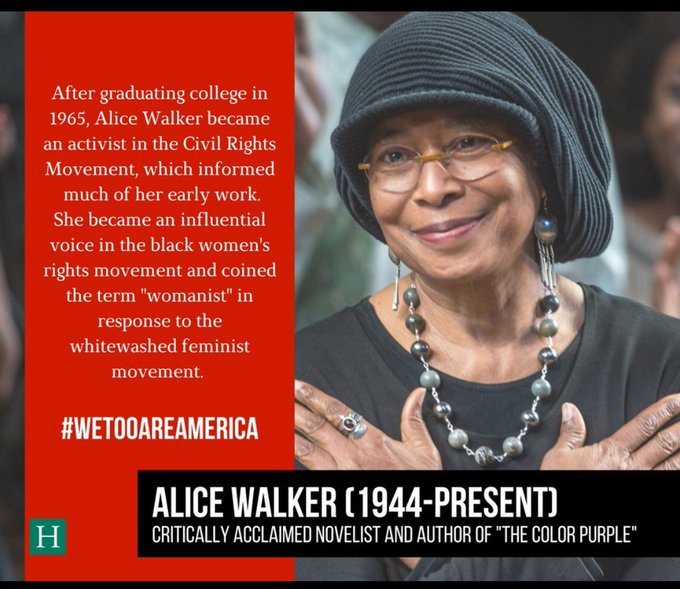 civil rights movement alice walker