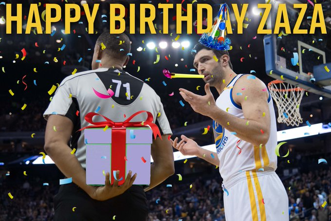 Join us in wishing Zaza Pachulia a very Happy Birthday!