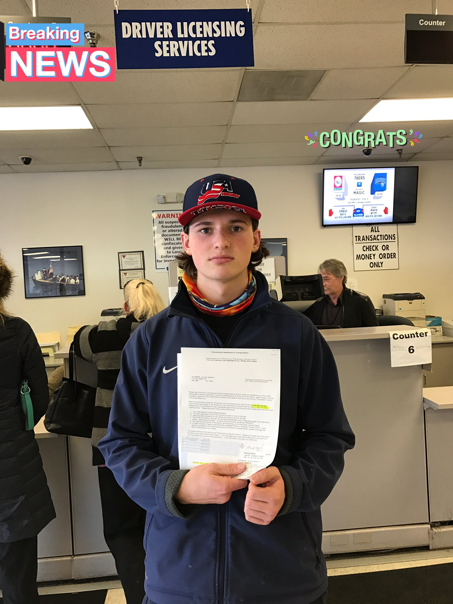 Happy birthday &I congrats to the newest driver in our home - Alex D\Angelo!