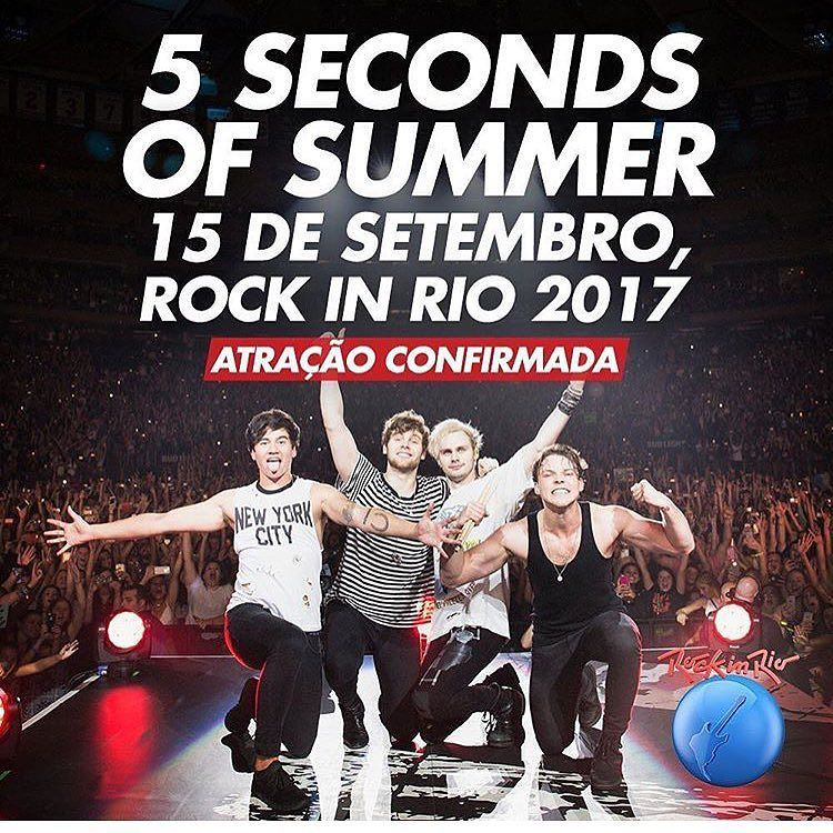 See at Rock in Rio, finally will make it down to Brazil ! 🤓