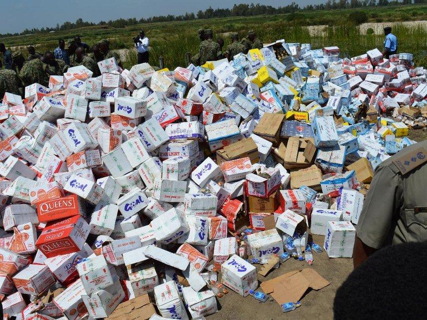Illicit liquor back, killing our legal alcohol business – Meru traders