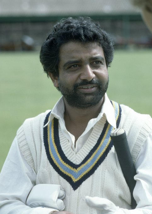 He top scored for India in the first CWC match of 1975, hitting 37 off 59 - Happy Birthday to Gundappa Viswanath!