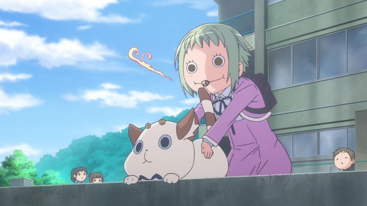あまんちゅ!ってアニメ女の子が二人ともすっごい可愛くて癒され浄化されるぞ。映像も綺麗だし是非見て頂きたい。