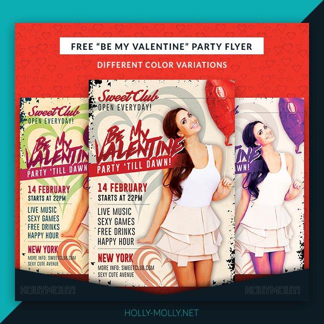 FRESH!!! A free valentinesDay Party Flyer: freebie valentine love freebieFriday