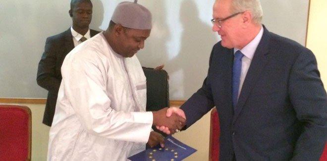EU to give 'virtually bankrupt' Gambia 225 mn euros