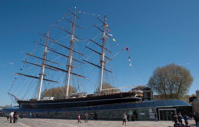 Cutty Sark London's best unsung afternoon tea