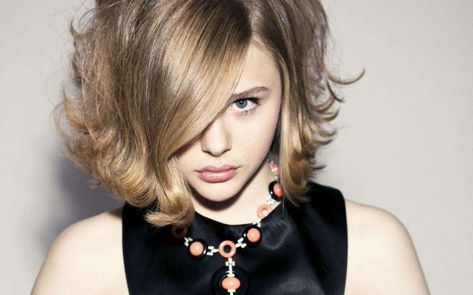 Happy Birthday. Today, Feb 10, 1997 Chloë Grace Moretz, American actress was born.   (