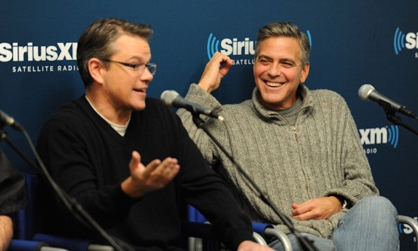 Find out Matt Damon's reaction to GeorgeClooney and AmalClooney 's baby news:
