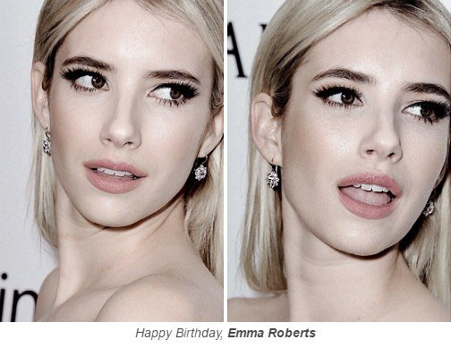 Happy Birthday, Emma Roberts. C            ,        love youuuu