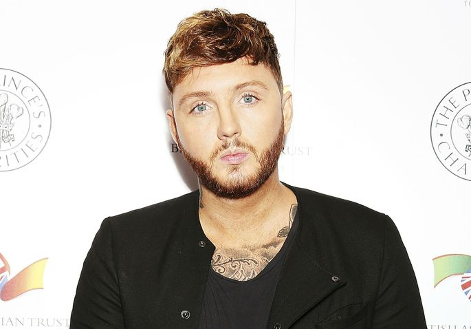 X Factor winner James Arthur has had a nose