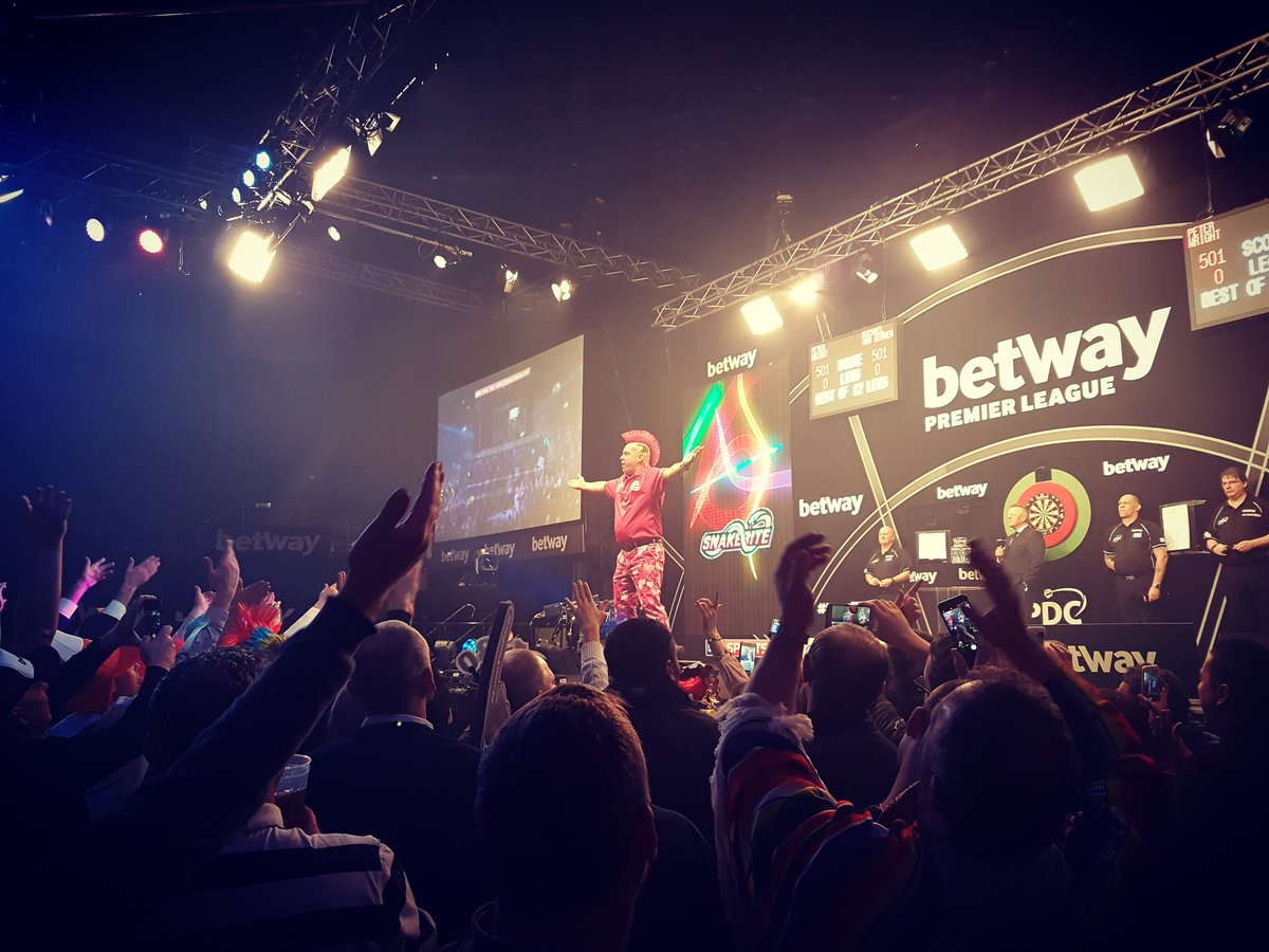watch premier league darts online