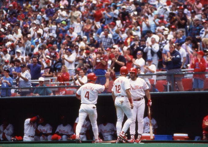 Clearwater countdown: 4 days. Happy 54th birthday, Lenny Dykstra,