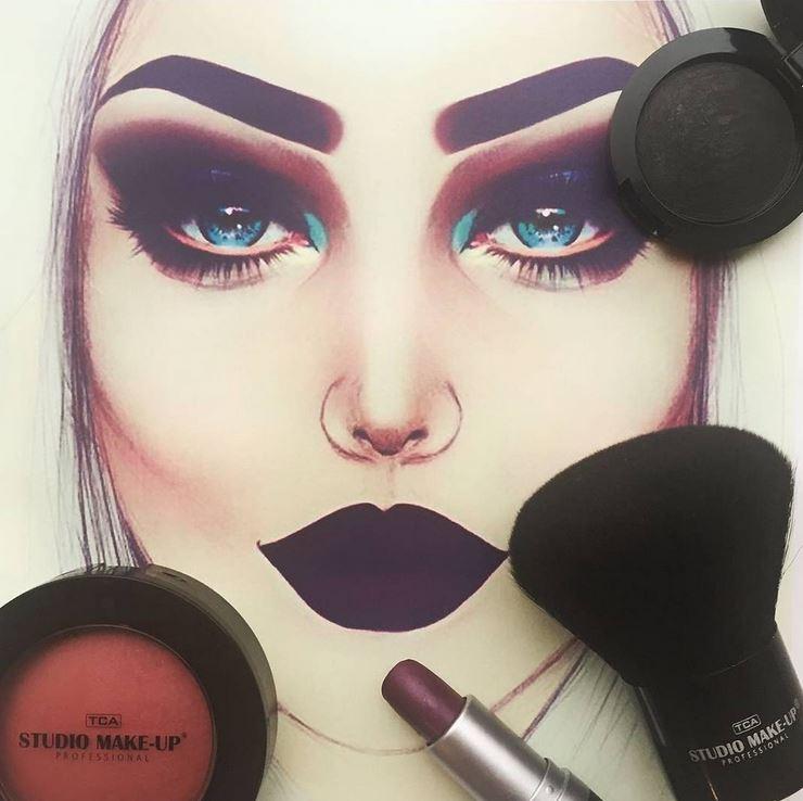 Studio makeup