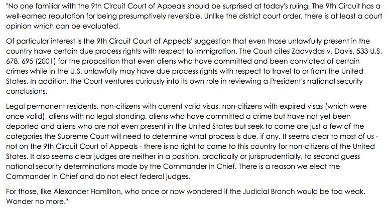 Full statement on the 9th Circuit Court of Appeals ruling last night →