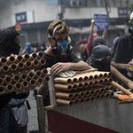 Brazil protests: Military police shoot tear gas during violent Rioagitation