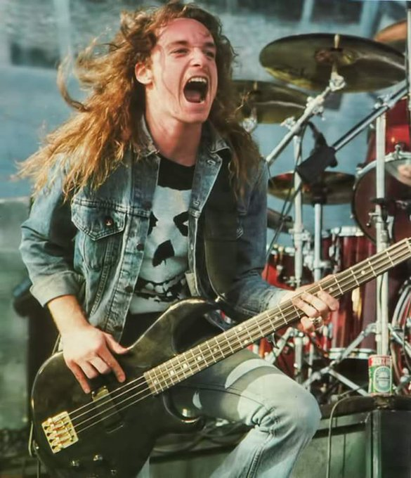 Happy Birthday to the incomparable CLIFF BURTON, who would have been 55 today.