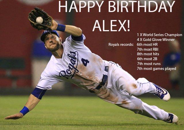 HAPPY 33rd BIRTHDAY to Royals outfielder Alex Gordon!