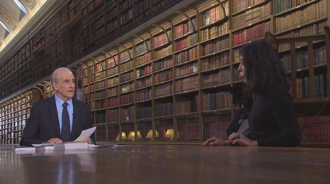 La conversation « C'est un plaisir rare et un luxe aujourd'hui » - Cécile Guilbert #BibliothèqueMedicis
