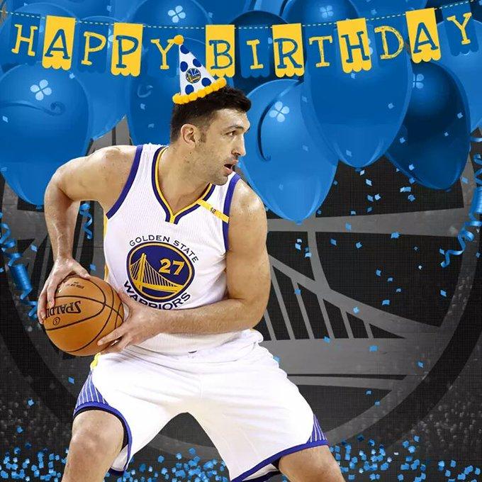 Happy Birthday Zaza Pachulia...