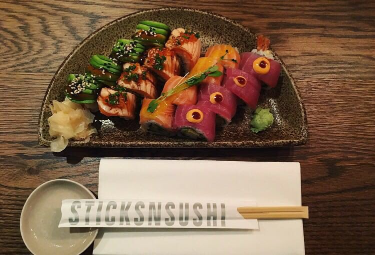 Sticks'n'Sushi Best Deliveroo options in SE