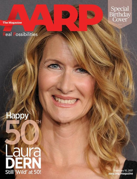 Yay! Happy birthday, Laura Dern!