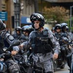Rio's Military Police Protests Start Small, for the Moment