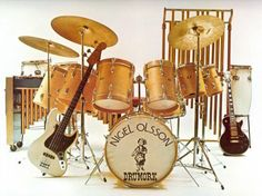Happy birthday to Musician, Mr. Nigel Olsson!
