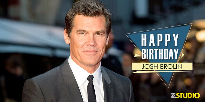 Happy Birthday to Agent K a.k.a Josh Brolin! Send in your wishes soon!