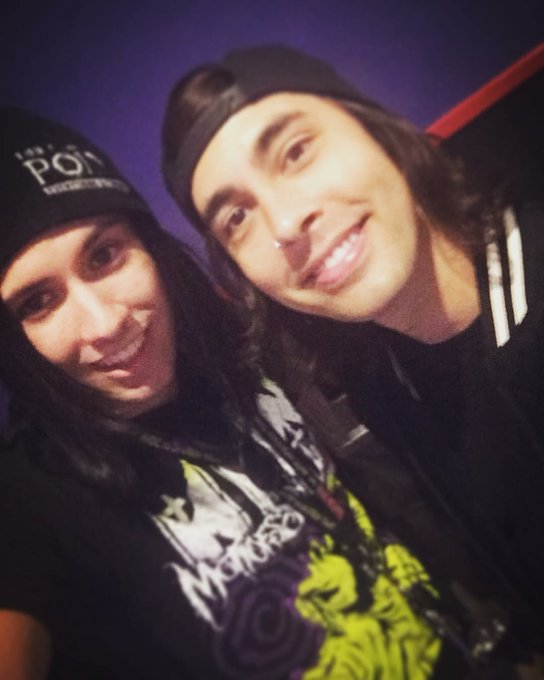 Happy 34th birthday to Vic Fuentes of Pierce The Veil.