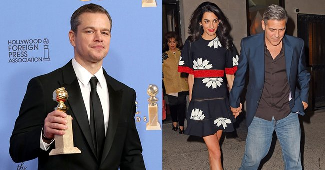 Eep. Matt Damon just dropped a clanger about George and Amal Clooney's baby news...