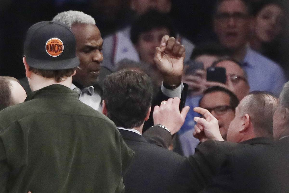 Knicks security chief fired after basketball legend Charles Oakley's arrest
