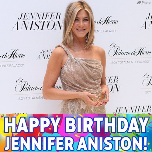 Happy 48th birthday to one of our favorite Friends, Jennifer Aniston!