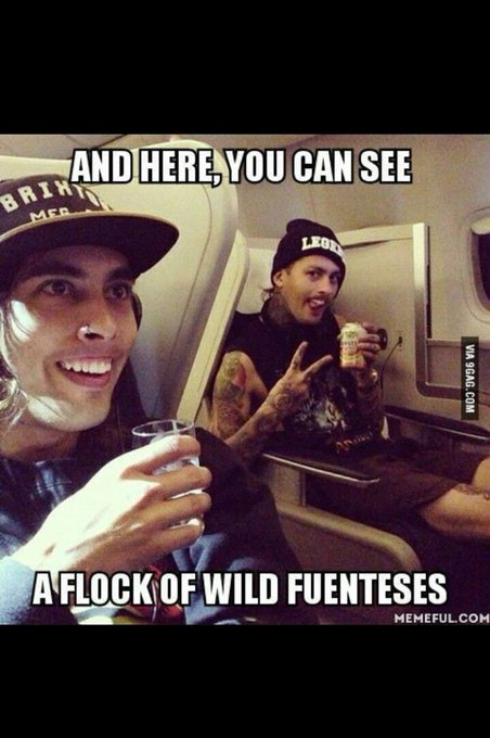 Happy birthday to Vic Fuentes from Pierce the Veil!!! Hope it was a good one!