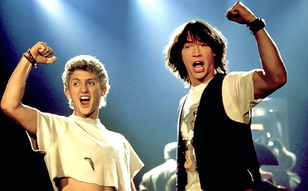 Keanu Reeves teases 'Bill & Ted 3' details:
