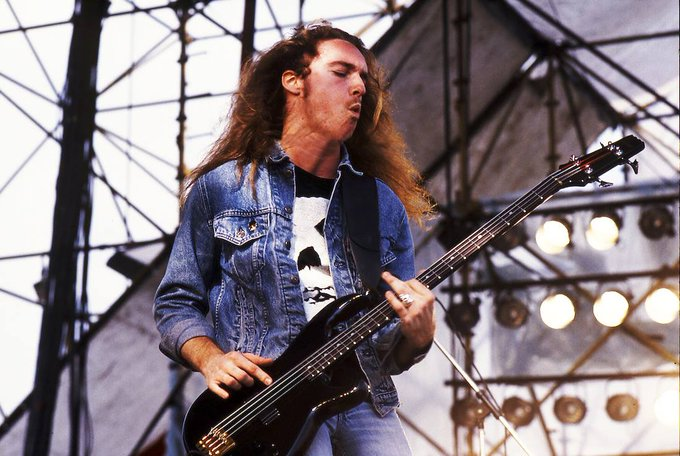 Happy 55th birthday to the late Cliff Burton of Metallica!