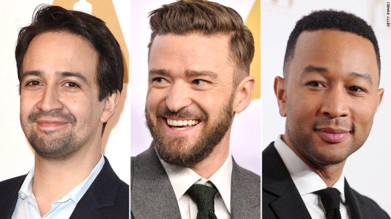 Justin Timberlake, Sting, Lin-Manuel Miranda and John Legend set to perform at the Oscars