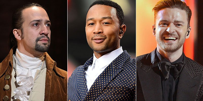 Lin-Manuel Miranda, John Legend, Justin Timberlake to perform at